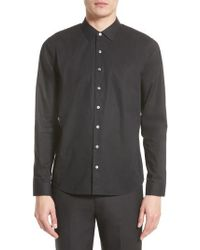 ATM - Cotton Dress Shirt - Lyst