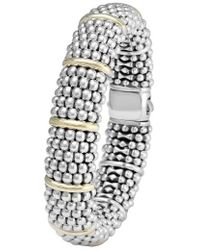 Lagos | Oval Caviar Bracelet | Lyst