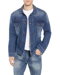 Wrangler - Heritage Pleated Denim Jacket - Lyst