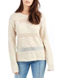 True Religion - Stripe Sweater - Lyst