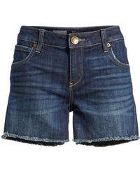 Kut From The Kloth | Gidget Denim Cutoff Shorts | Lyst