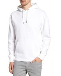J.Crew - Garment Dyed French Terry Hoodie - Lyst