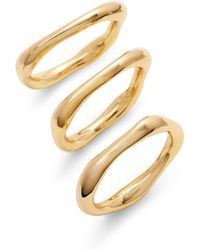 Gorjana - Quinn Set Of 3 Rings - Lyst