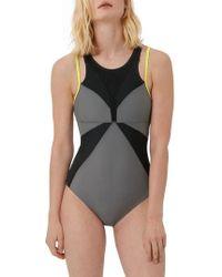 Sweaty Betty - Free Dive One-piece Swimsuit - Lyst