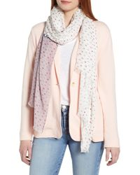 Kate Spade - If You Can See This Oblong Scarf - Lyst