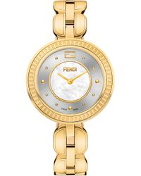 Fendi - My Way Genuine Fox Fur Bracelet Watch - Lyst
