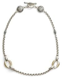 Konstantino - Classics Daphne Link Necklace - Lyst