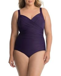 Miraclesuit - Miraclesuit 'sanibel' Underwire One-piece Swimsuit - Lyst