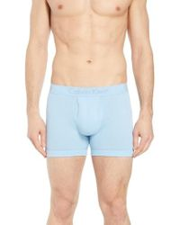 CALVIN KLEIN 205W39NYC - Cotton Boxer Briefs - Lyst