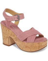 Splendid - Flaire Platform Sandal - Lyst
