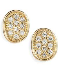 Marco Bicego - Lunaria Diamonds Earrings - Lyst
