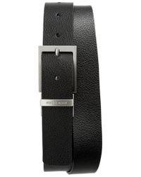 BOSS - Reming Reversible Leather Belt - Lyst
