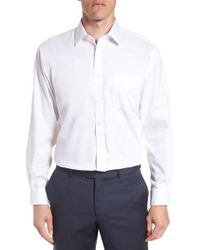 Nordstrom - Traditional Fit Non-iron Solid Dress Shirt - Lyst