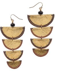 Nakamol - Tiered Drop Earrings - Lyst