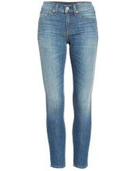 Rag & Bone | Capri Crop Skinny Jeans | Lyst