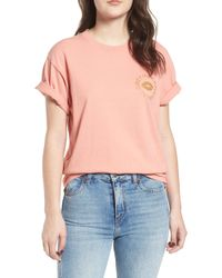 Obey - Kiss Of Boxy Tee - Lyst