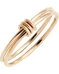 Zoe Chicco - Linked Double Ring - Lyst