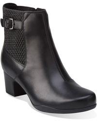 Clarks - Clarks Rosalyn Lara Waterproof Boot - Lyst
