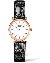 Longines - La Grande Classique De Leather Strap Watch - Lyst