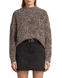 AllSaints - Malu Knit Sweater - Lyst