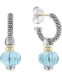 Lagos - Caviar Forever Melon Bead Charm Earrings - Lyst