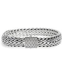 John Hardy - Classic Chain Large Flat Chain Bracelet - Lyst