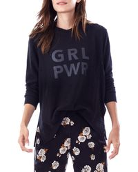 Loyal Hana - Grl Pwr Maternity Sweatshirt - Lyst