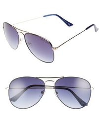 Draper James | 58mm Gradient Aviator Sunglasses | Lyst