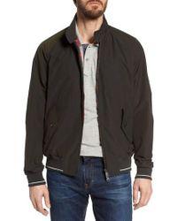Baracuta - G9 Varsity Stripe Water Resistant Jacket - Lyst