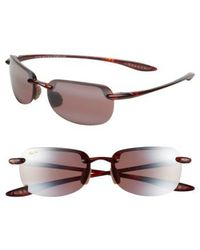 Maui Jim | Sandy Beach 56mm Polarizedplus2 Rimless Sunglasses | Lyst