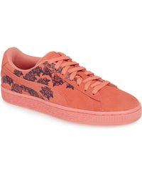 PUMA - Suede Tol Graphic Sneaker - Lyst 3c63e4cb4