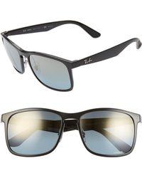 Ray-Ban - Tech 62mm Polarized Wayfarer Sunglasses - Lyst