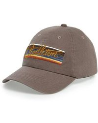 56414a4a16c Pendleton - Olympic National Park Stripes Embroidered Cap - Lyst
