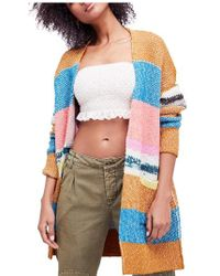 Free People - Think Twice Cardigan - Lyst