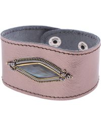 Nakamol - Leather Cuff Bracelet - Lyst