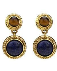 Ben-Amun - Multicolor Drop Earrings - Lyst
