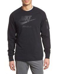 Nike - Nsw Air Max Crewneck Sweatshirt - Lyst