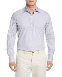 Ike Behar - Regular Fit Solid Dress Shirt - Lyst
