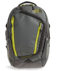 the north face Fusebox Grey Spring Green Inductor Charged Backpack the north face 25l fuse box charged backpack in black for men lyst north face fuse box charged backpack at crackthecode.co