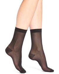 Elie Tahari - Sheer Trouser Socks - Lyst