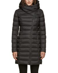 SOIA & KYO - Hooded Down Puffer Jacket - Lyst