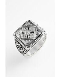 Konstantino - 'classics' Cross Square Ring - Lyst