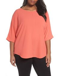 Vince Camuto - Crepe Blouse - Lyst
