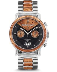 ORIGINAL GRAIN | Alterra Chronograph Bracelet Watch | Lyst