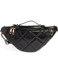 BP. - Quilted Faux Leather Belt Bag - - Lyst