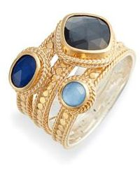 Anna Beck - Triple Band Ring - Lyst