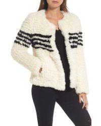 Love Token - Faux Fur Jacket - Lyst