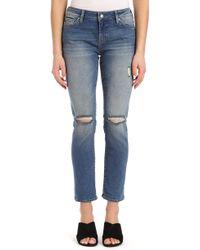 Mavi Jeans - Ada Ripped Slim Jeans - Lyst