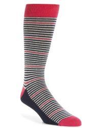Ted Baker - Pinstripe Socks - Lyst