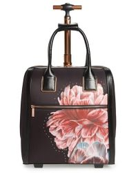Ted Baker - Tranquility Rolling Faux Leather Travel Bag - Lyst